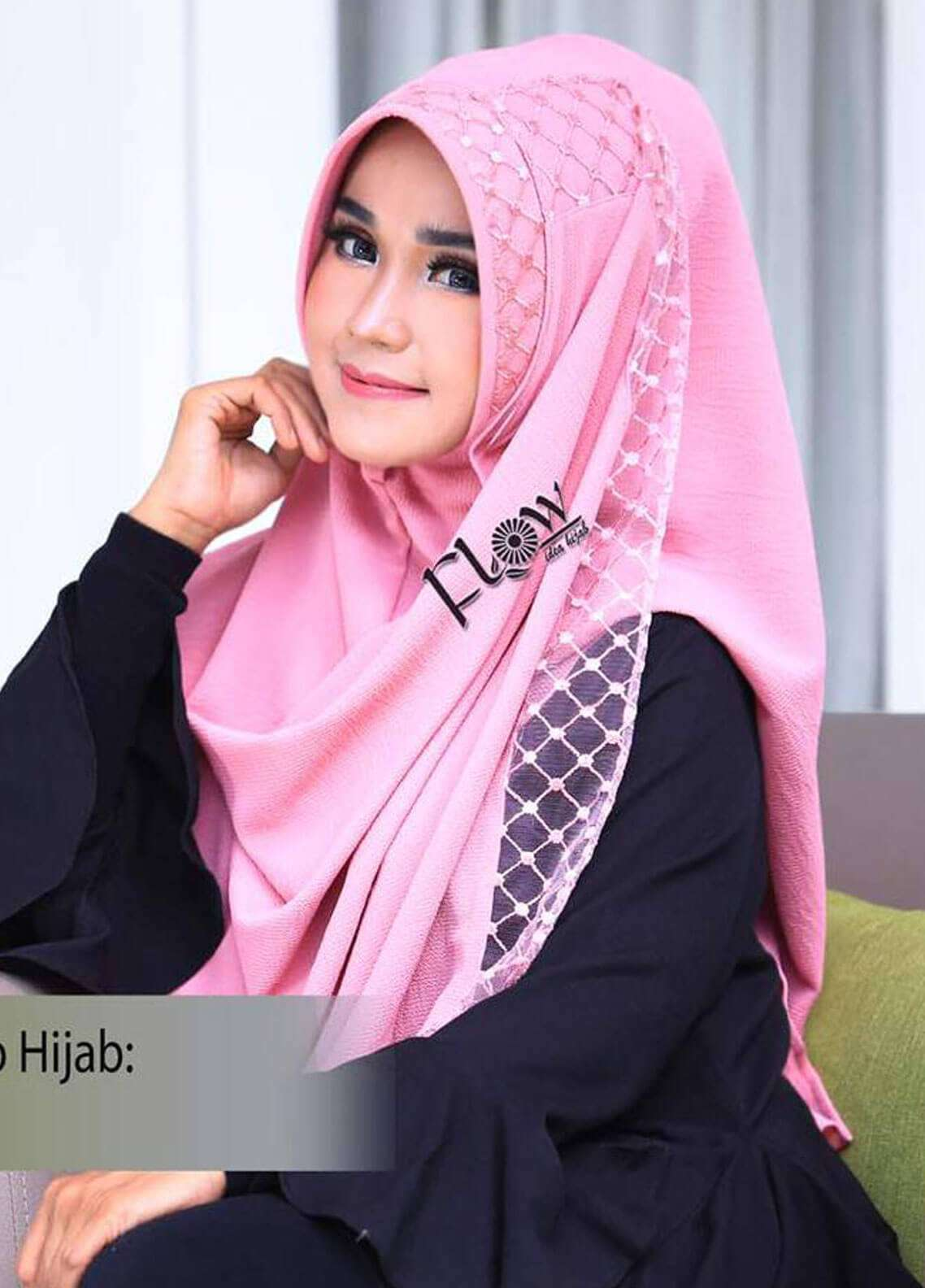Flow Idea Hijab  Bubble Pop  Ladies Scarves HH Flow Amily 06 Rosey Brown