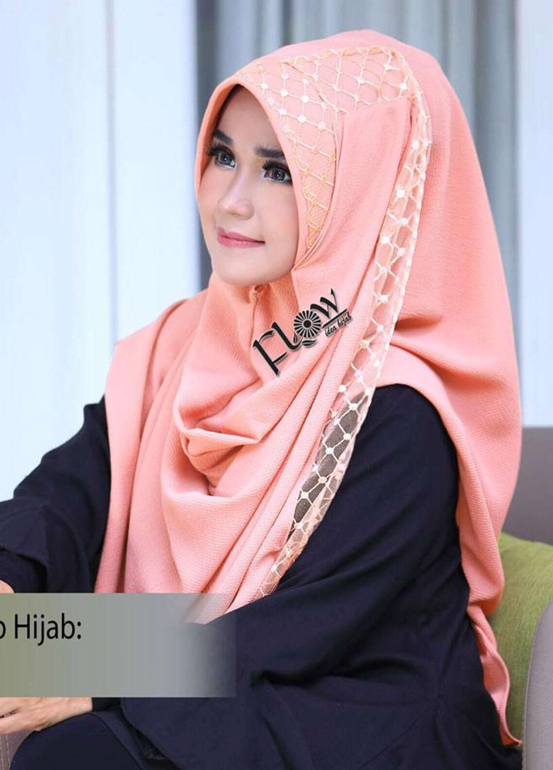 Flow Idea Hijab  Bubble Pop  Ladies Scarves HH Flow Amily 08 Cockso
