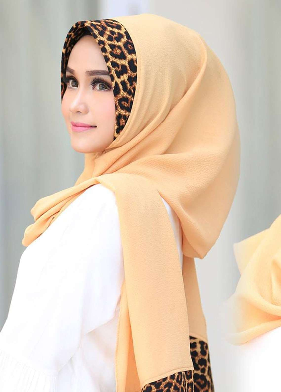 Flow Idea Hijab  Bubble Pop  Ladies Scarves HH Flow Leona 01 Yellow