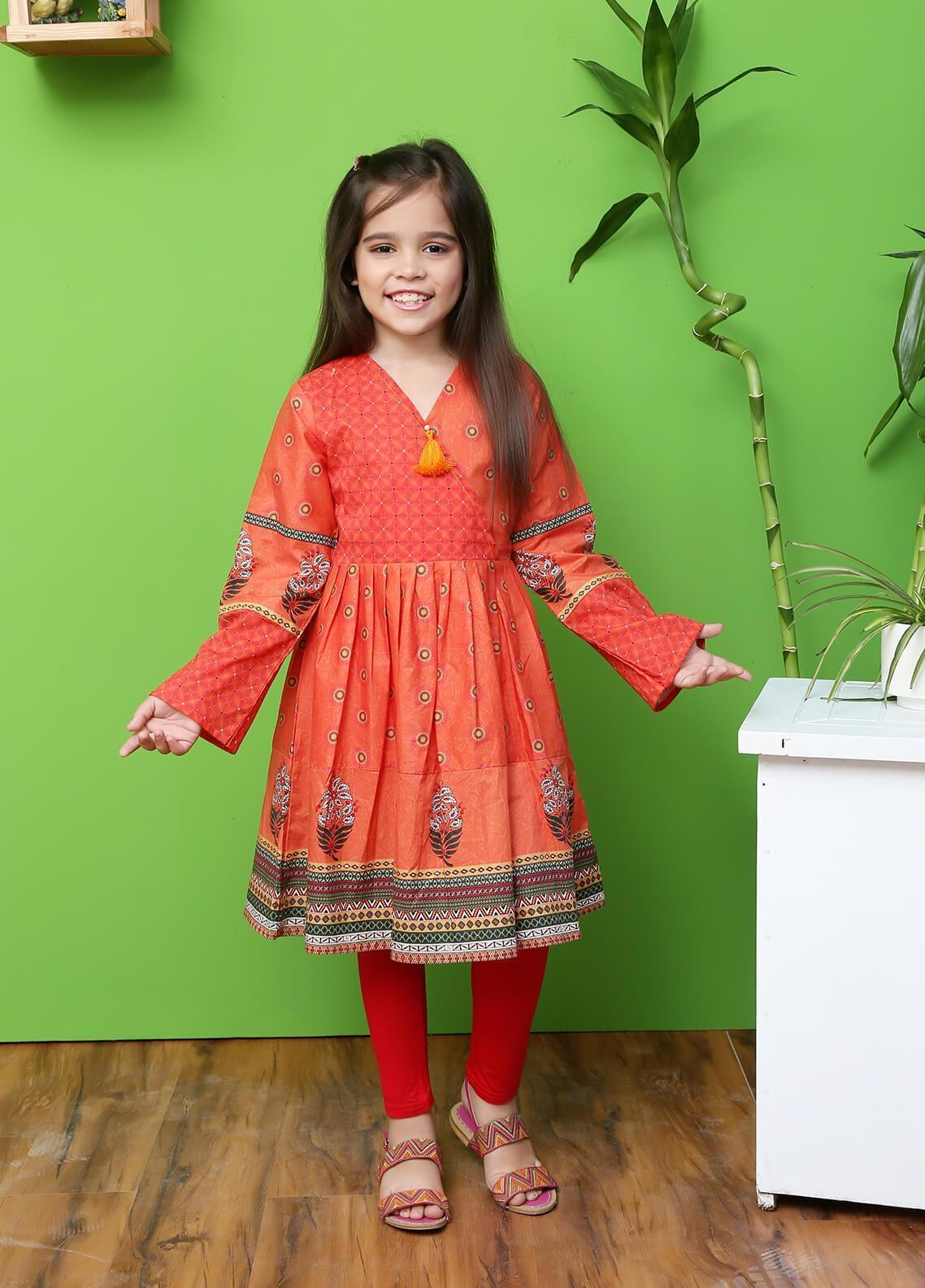 Ochre Lawn Formal Girls Kurtis - OPL 20 Mix