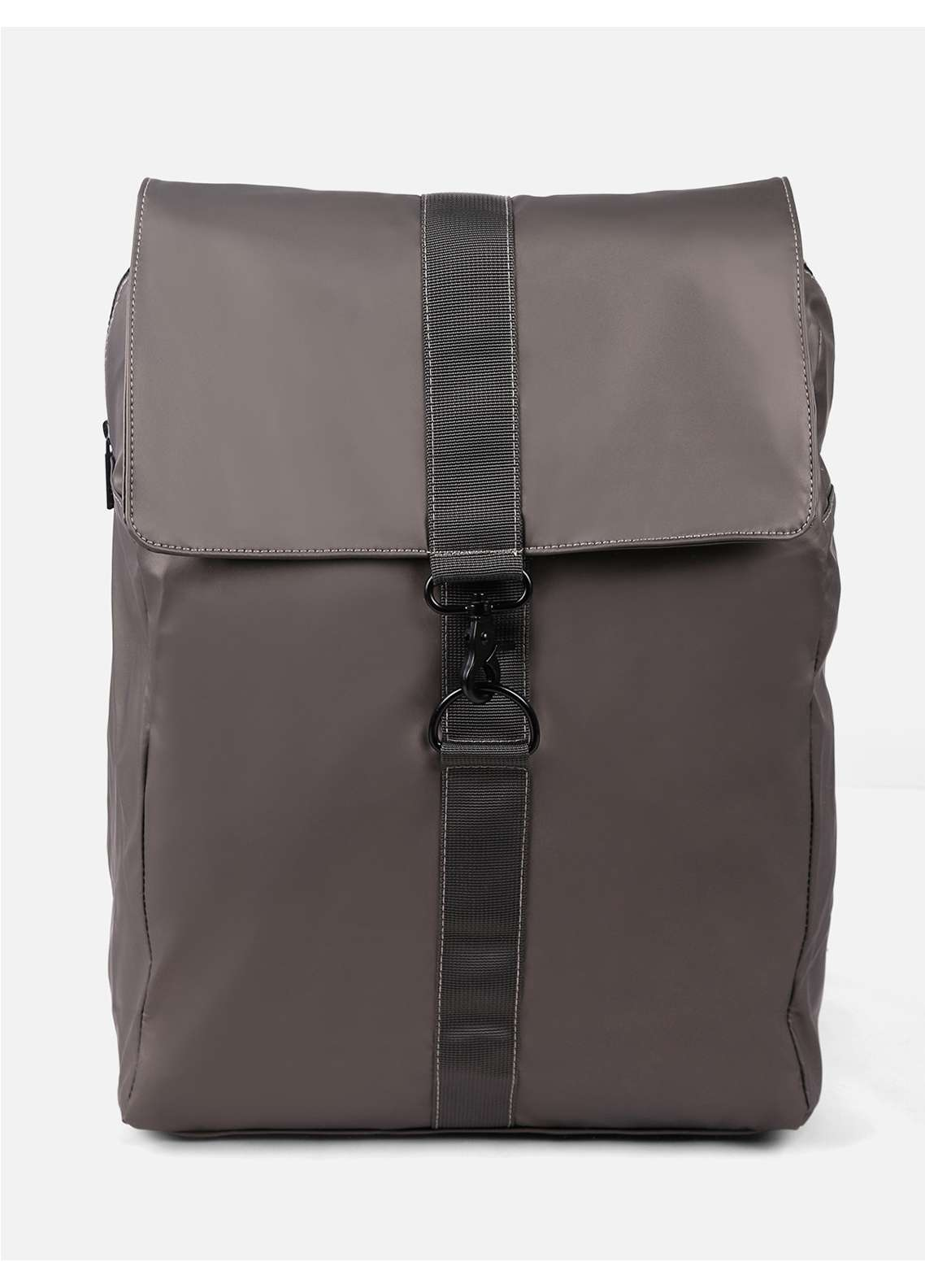 Furor Mix Backpack Bags for Unisex - Olive with Plain Texture