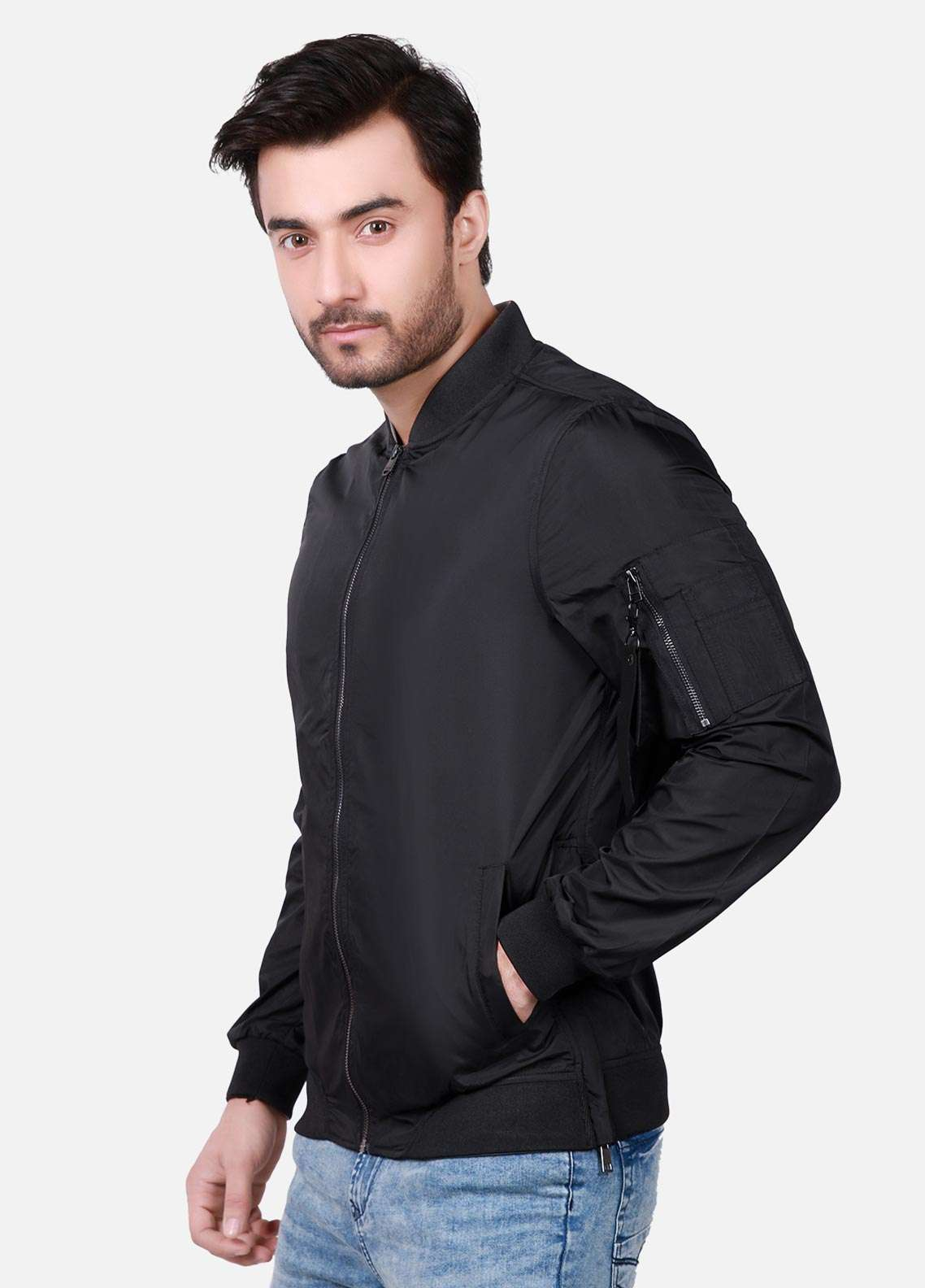 Furor Cotton Winter Jackets for Men - Black 039057