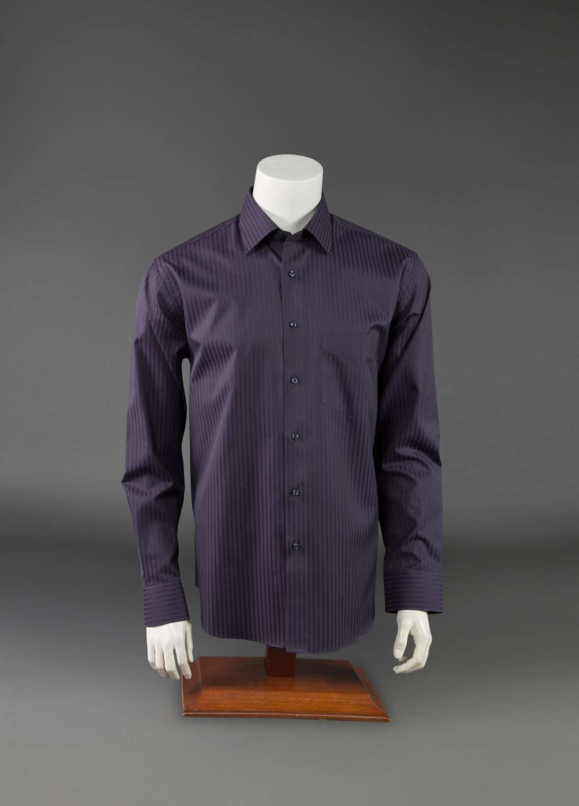 The Gentlemen's Club Cotton Black Label Men Formal Shirts - Purple GM18FS 2005
