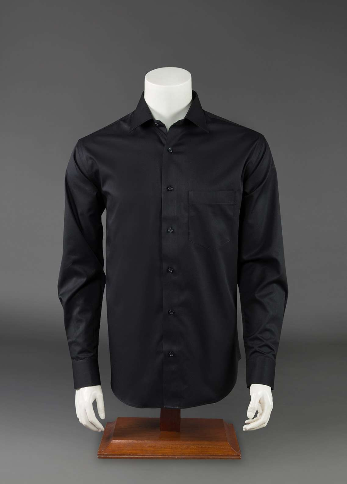 The Gentlemen's Club Cotton Black Label Men Formal Shirts -  GM18FS Black