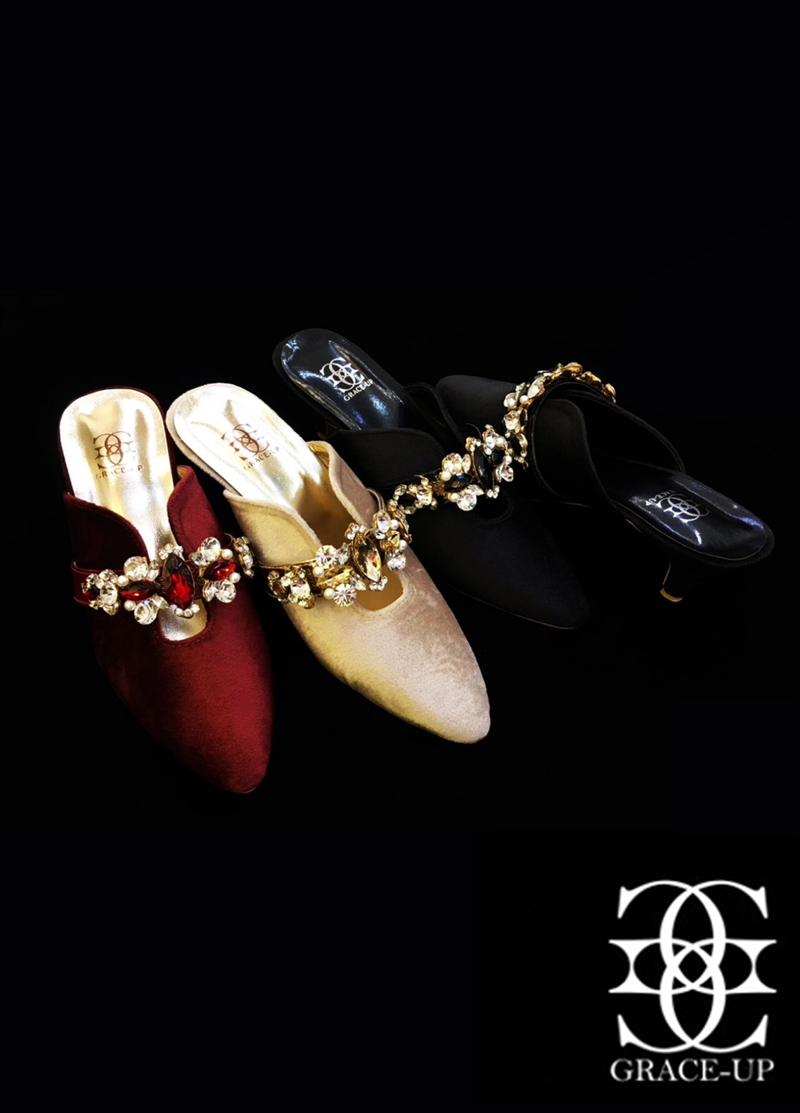 Grace Up Shoes Casual Style Heel Shoes O871