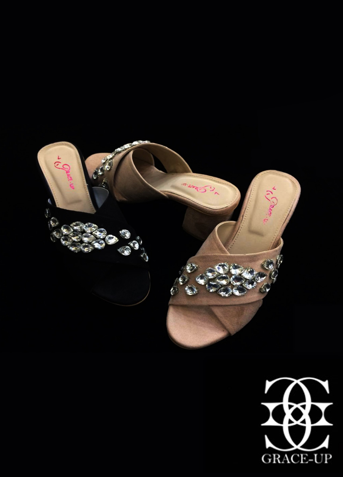 Grace Up Shoes Casual Style Heel Shoes O873