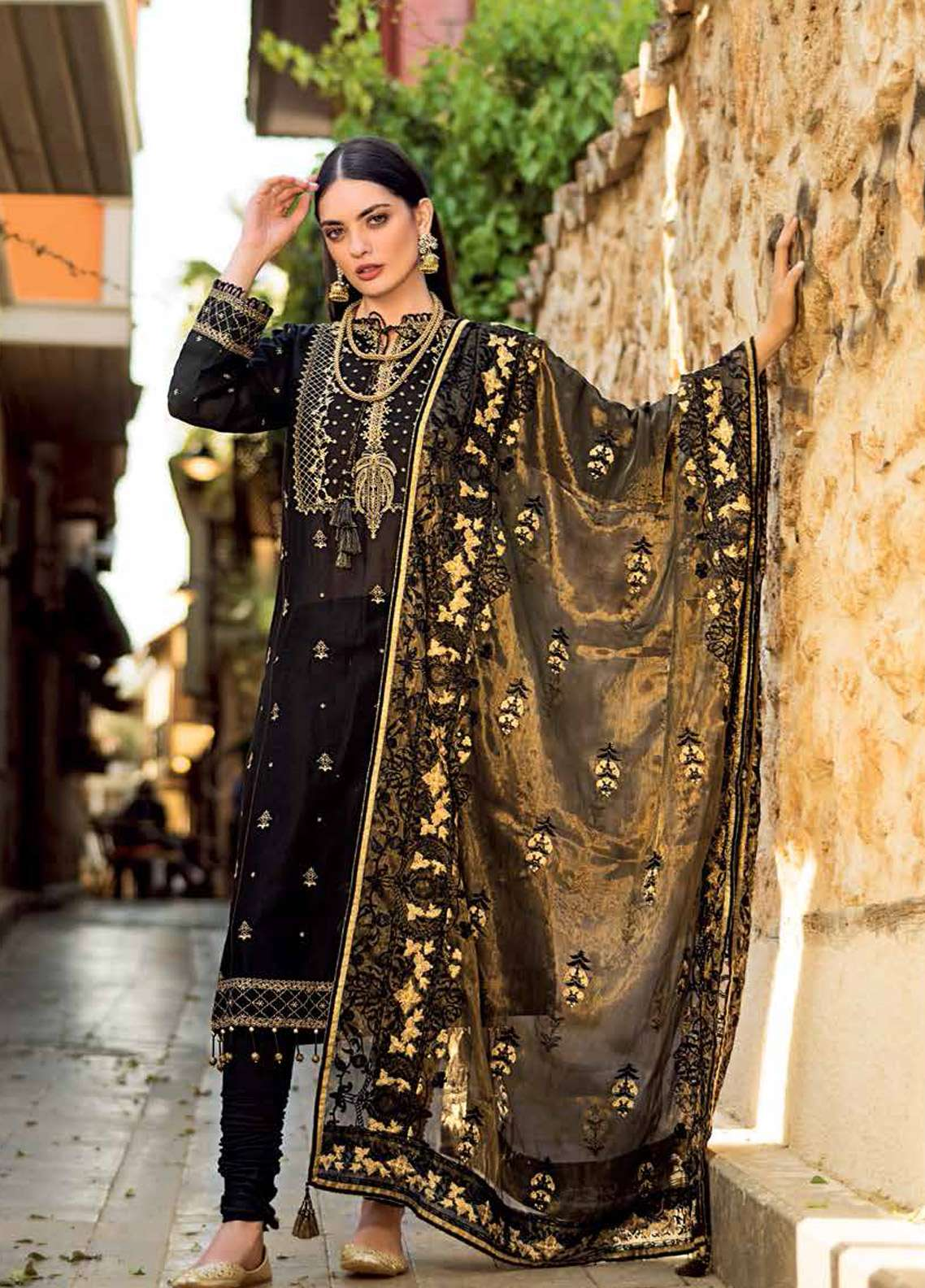 Gul Ahmed Embroidered Missouri Unstitched 3 Piece Suit GA19E FE-242 - Eid Collection