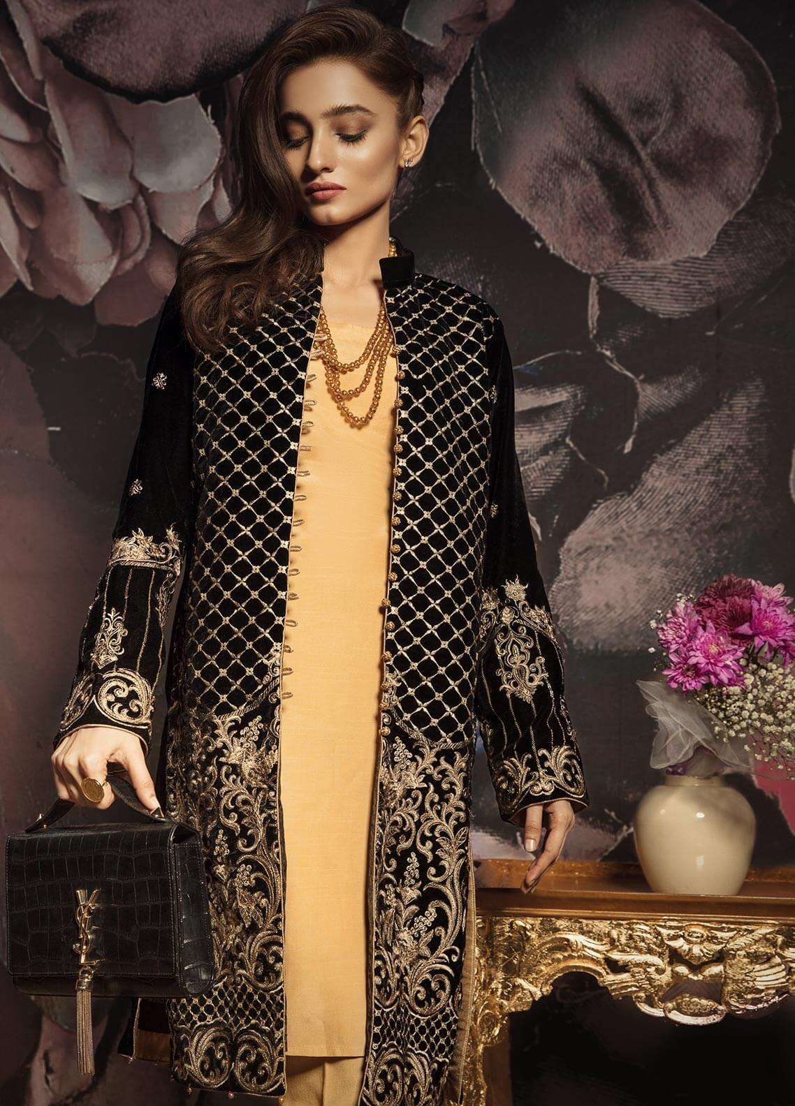 Gulaal Embroidered  Stitched Kurtis GLP18V 06