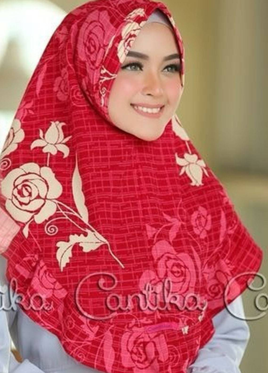 Cantika Bubble Pop Ladies Scarves HH Can 04 Dark Pink