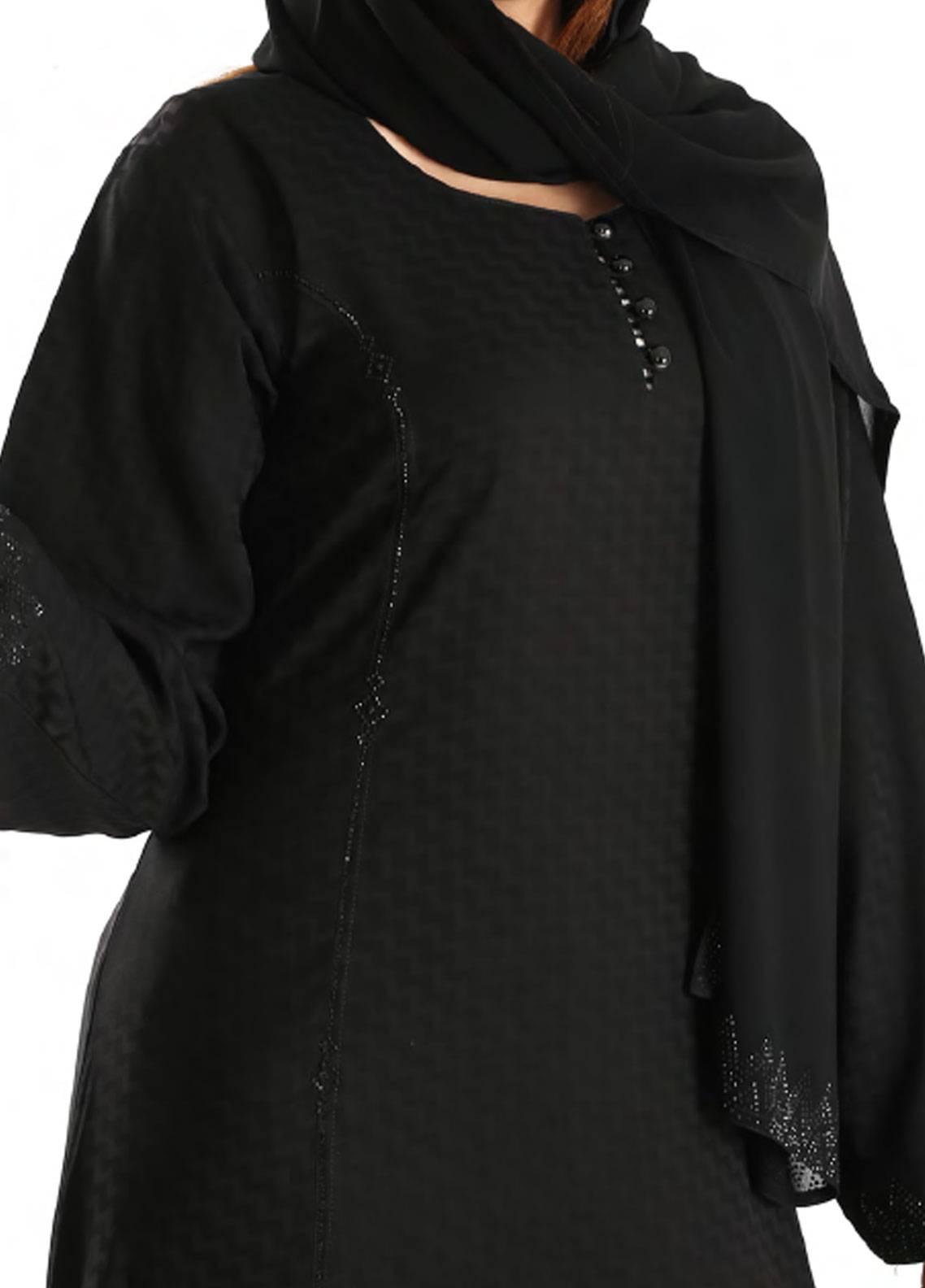 Hijab ul Hareem Pullover  Stitched Abaya 0120-C-906