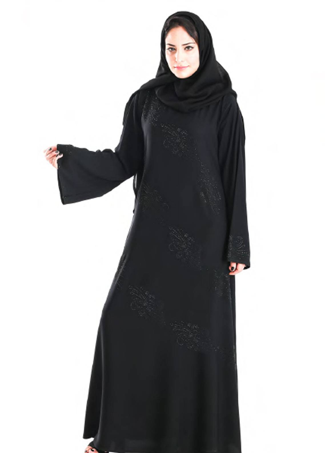 Hijab ul Hareem Pullover  Stitched Abaya 0120-C-950
