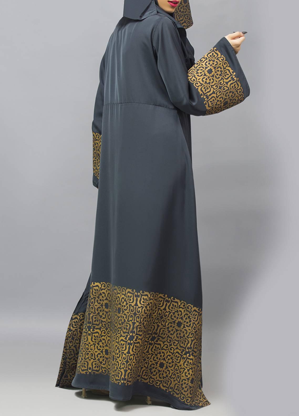 Hijab ul Hareem Pullover  Stitched Abaya 0120-R-963