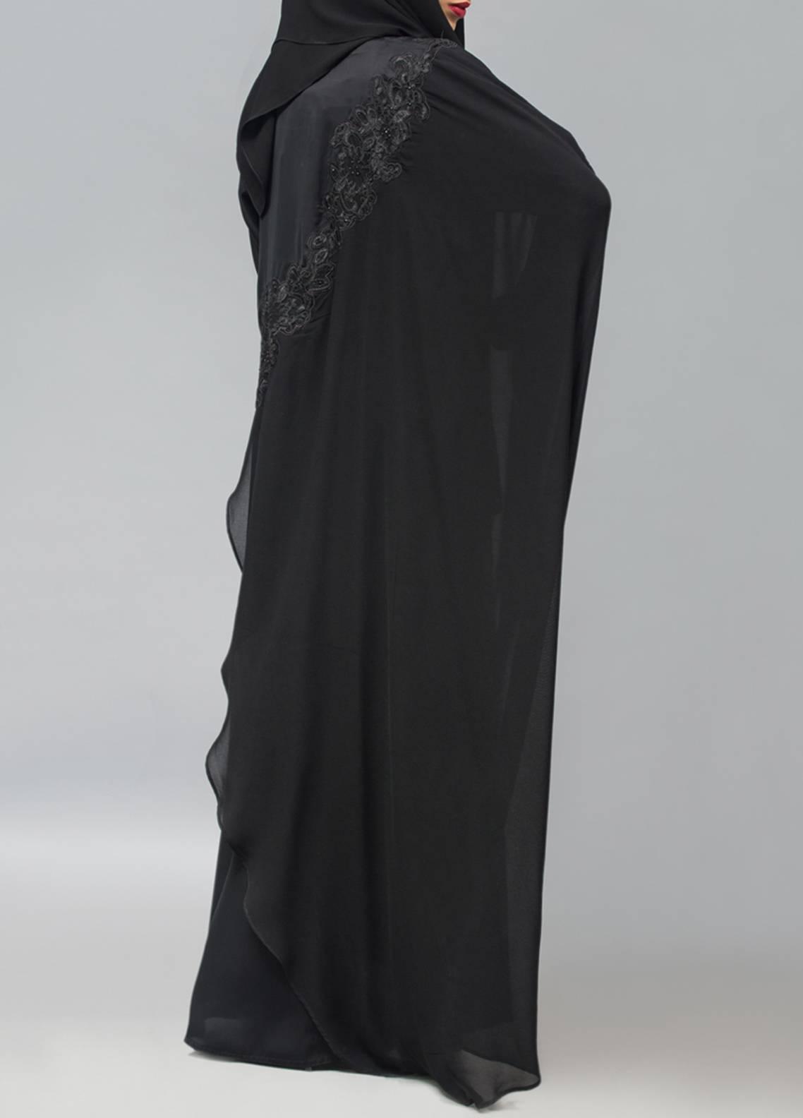 Hijab ul Hareem Pullover  Stitched Abaya 0120-RC-904