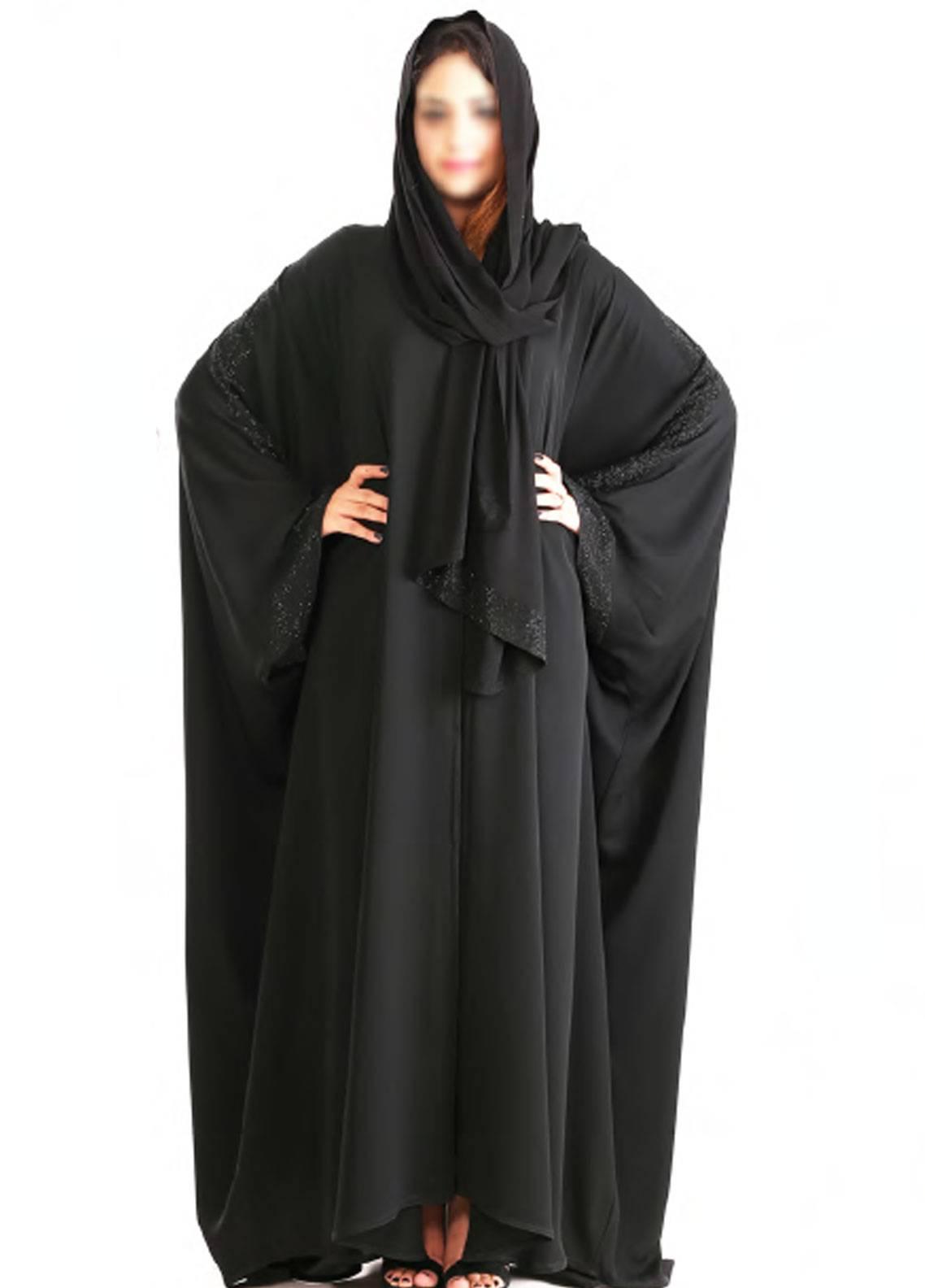 Hijab ul Hareem Pullover  Stitched Abaya Jilbab-RC-926