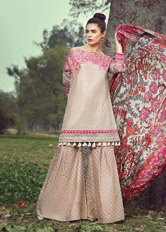 Saffron By Imperial Textile Embroidered Lawn Unstitched 3 Piece Suit IM17S 6A