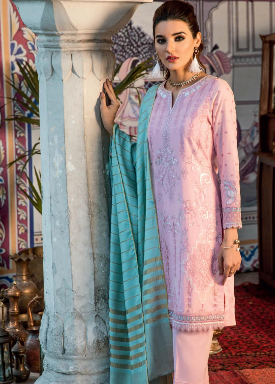 dad64d92ba0 Iznik Embroidered Lawn Unstitched 3 Piece Suit IZ19F 06 SURTI - Festive  Collection