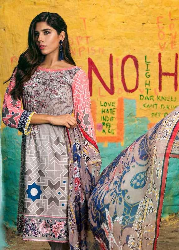 Jahanara Embroidered Cotton Unstitched 3 Piece Suit JN17C 02