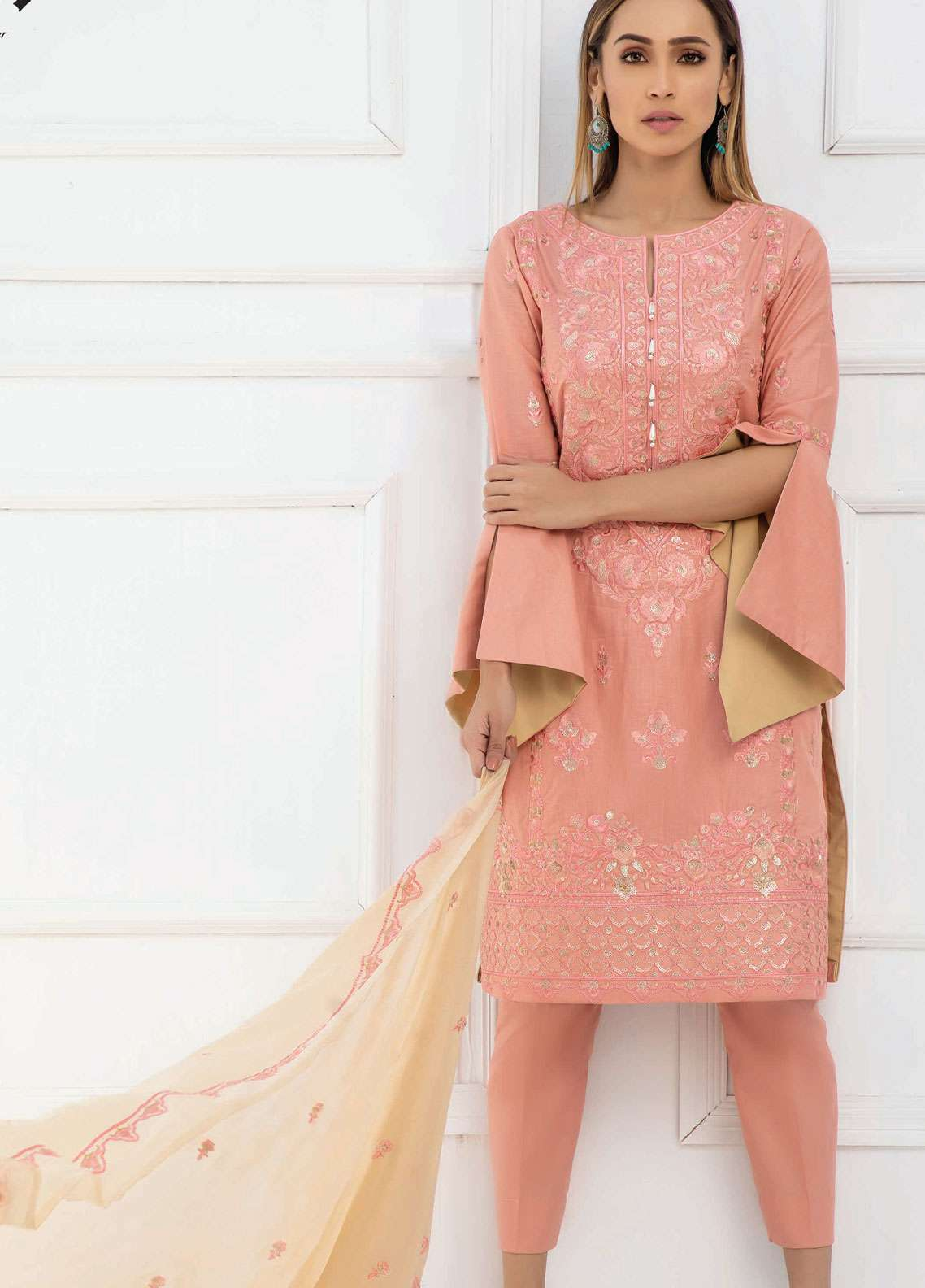 Kalyan By ZS Embroidered Lawn Unstitched 3 Piece Suit KED19EC 05 - Exclusive Collection
