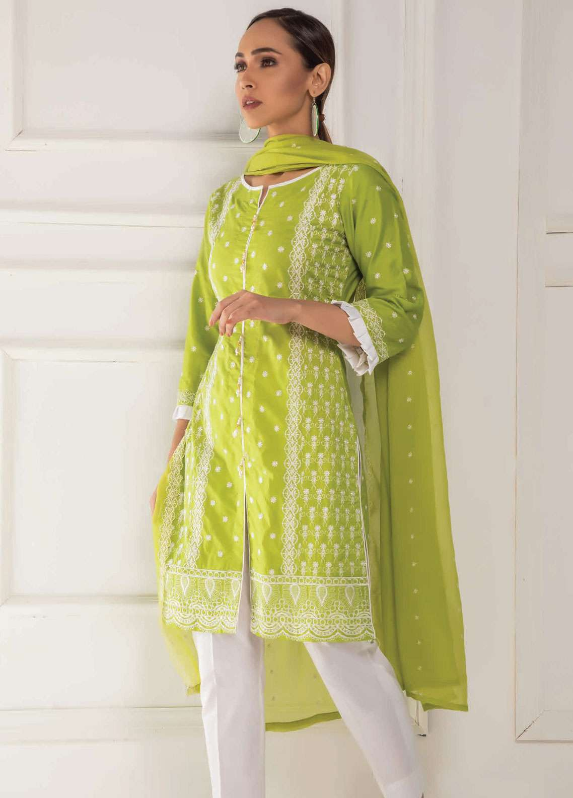 Kalyan By ZS Embroidered Lawn Unstitched 3 Piece Suit KED19EC 06B - Exclusive Collection