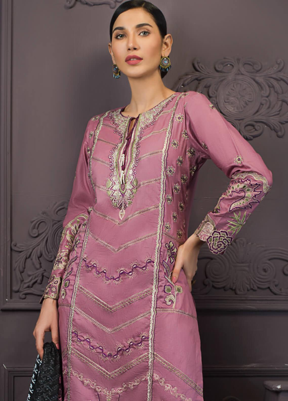 Kalyan By ZS Embroidered Lawn Unstitched 3 Piece Suit KLY19-F2 07 - Festive Collection