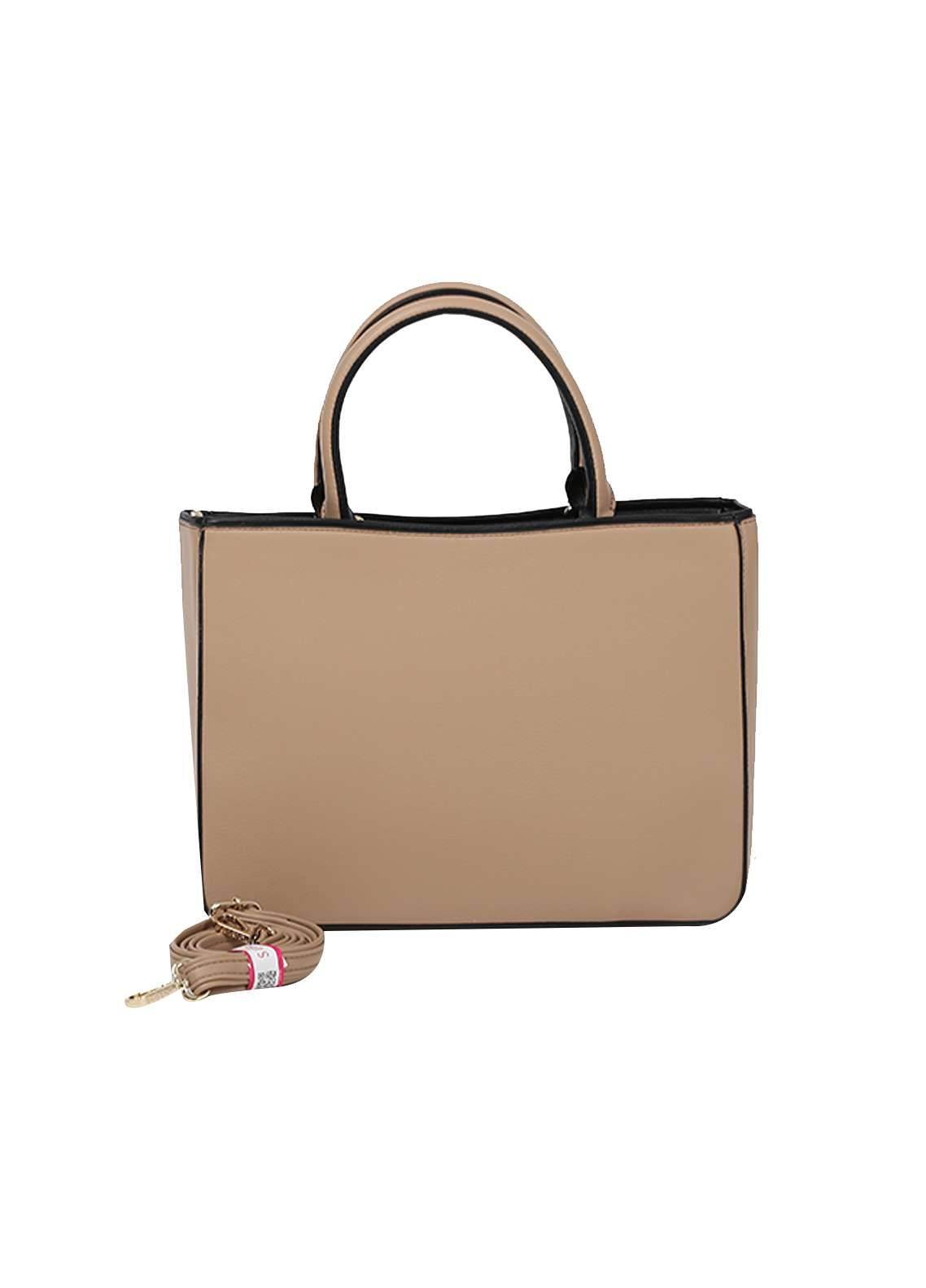 Susen PU Leather Satchels Bag for Women - Silver with