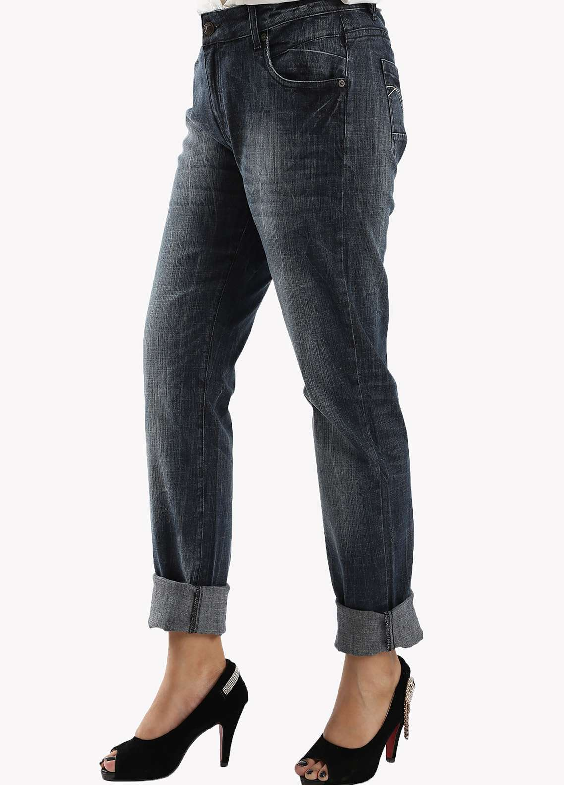 Bien Habille Ladies jeans Raven Black