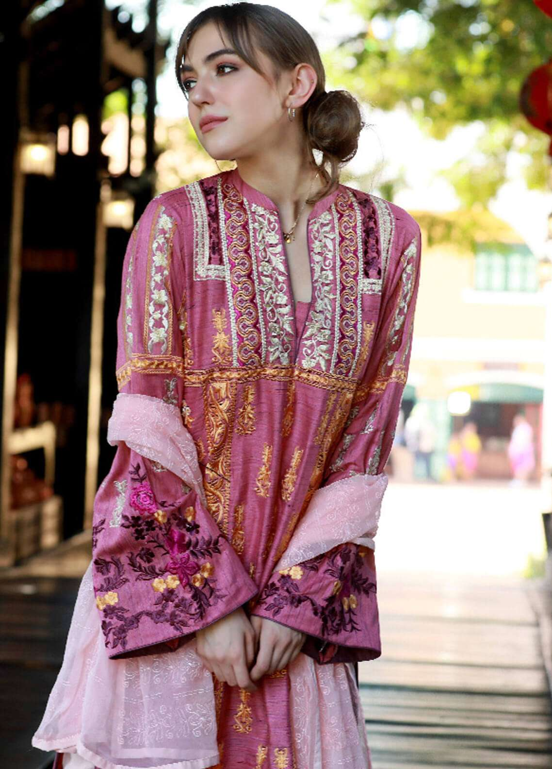Lakhany Embroidered Woven Yarn Unstitched 3 Piece Suit LSM19S 04 - Winter Collection