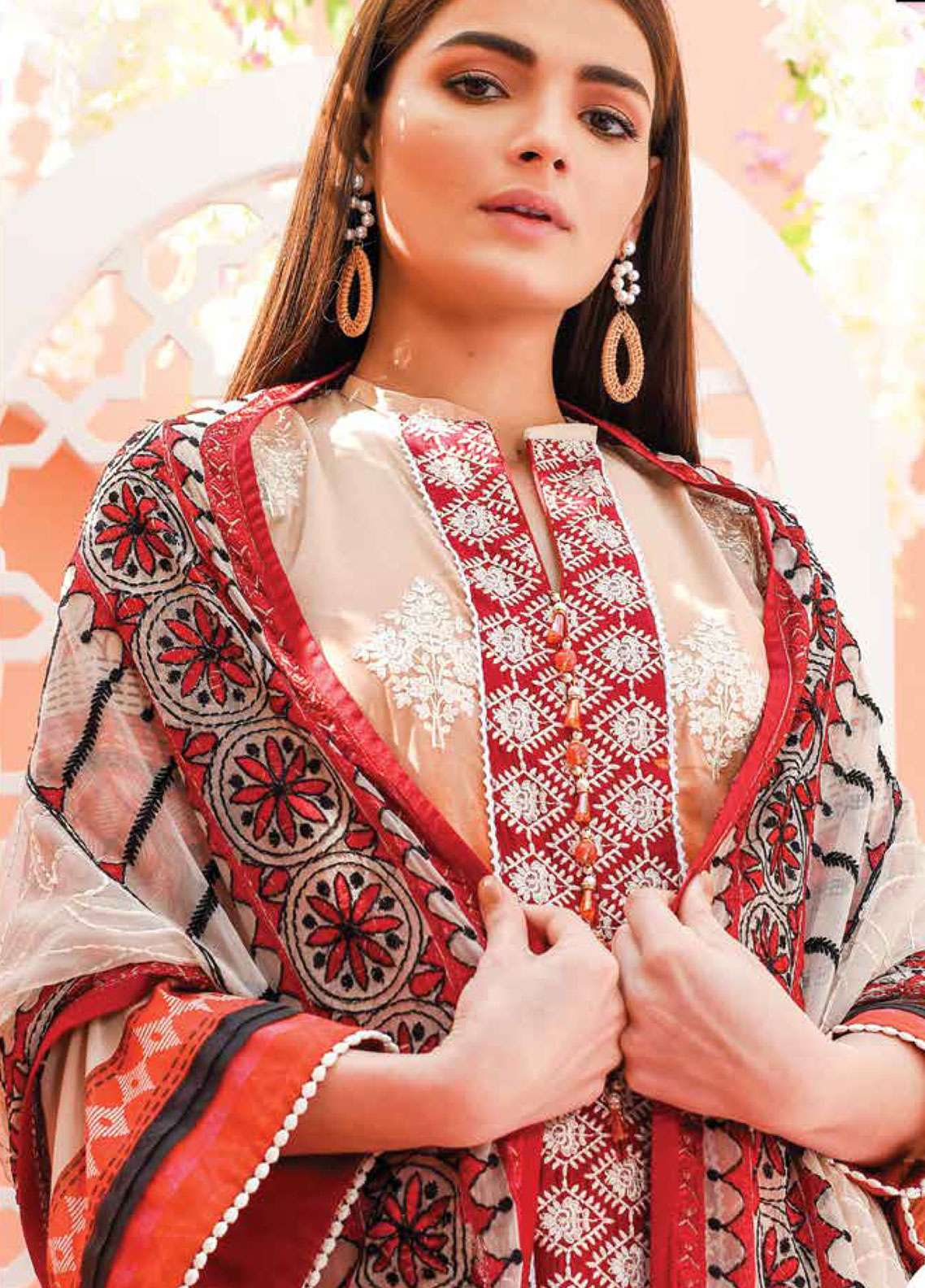 Lakhany Embroidered Lawn Unstitched 3 Piece Suit LSM19L LTD002 - Spring / Summer Collection