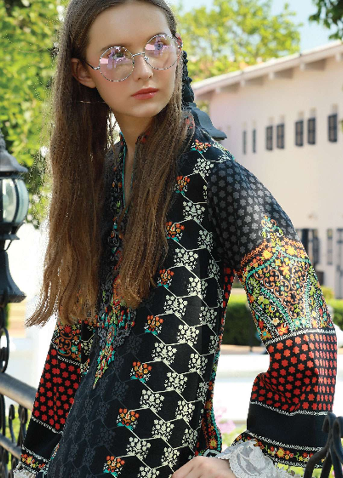 Lakhany Embroidered Cotton Unstitched Kurties LSM18WK 01 - Winter Collection