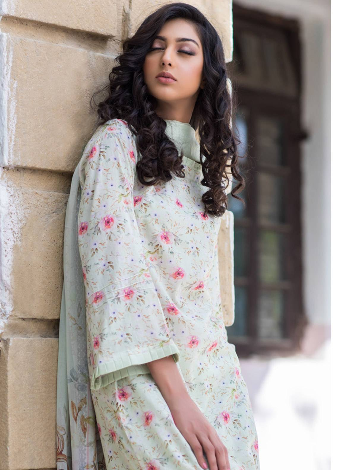 Malhar Printed Lawn Unstitched 3 Piece Suit ML19BL 6B - Spring / Summer Collection