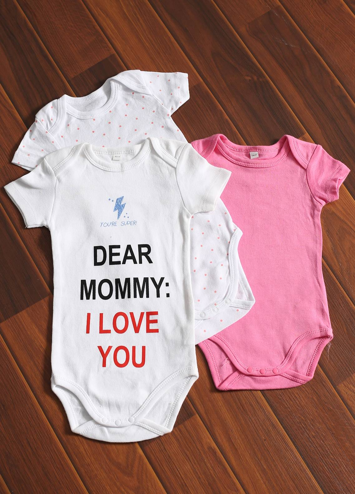 Mother Touch Half Sleeves  Stitched Body Suit 171-1