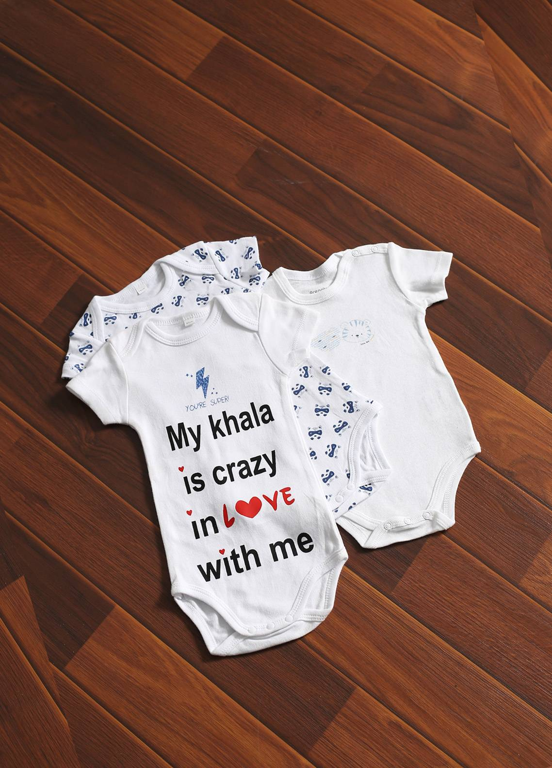 Mother Touch Half Sleeves  Stitched Body Suit 171-3