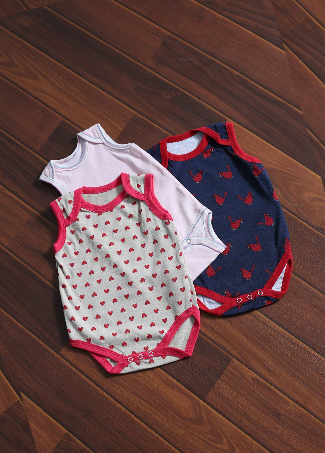 Mother Touch Half Sleeves  Stitched Body Suit 172-3
