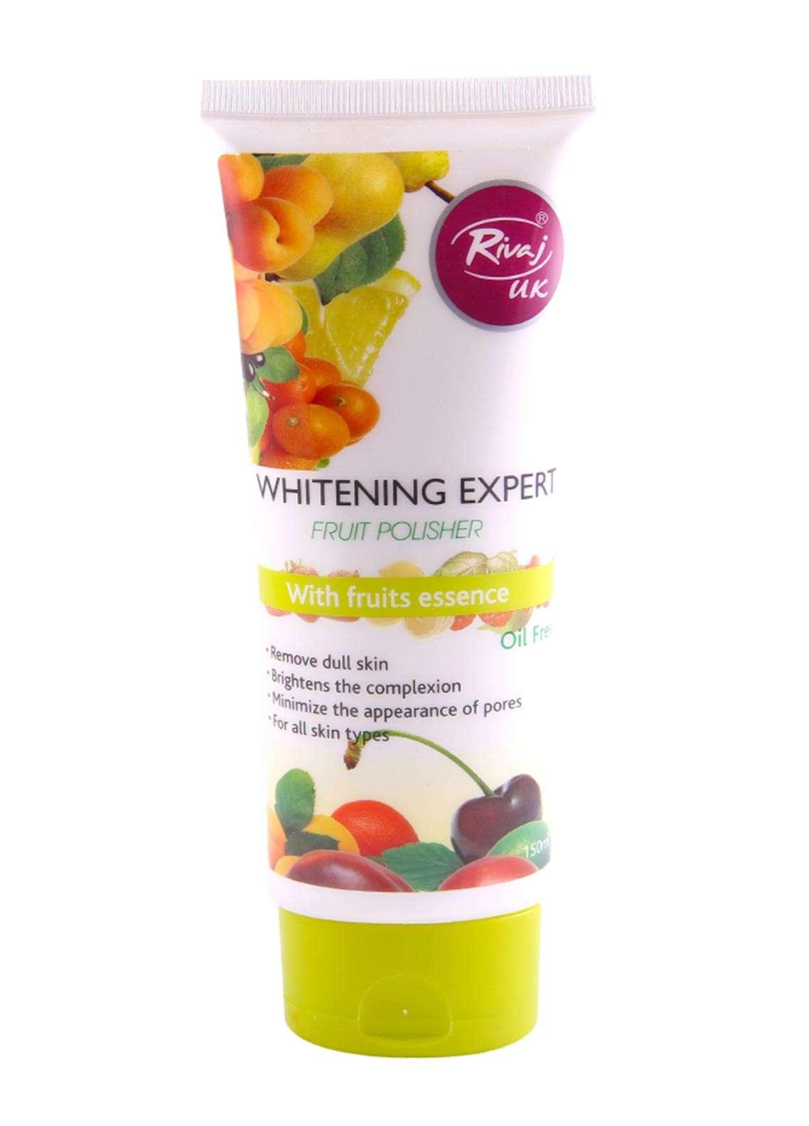 Rivaj UK Whitening Expert Fruit Polisher - 150 ml