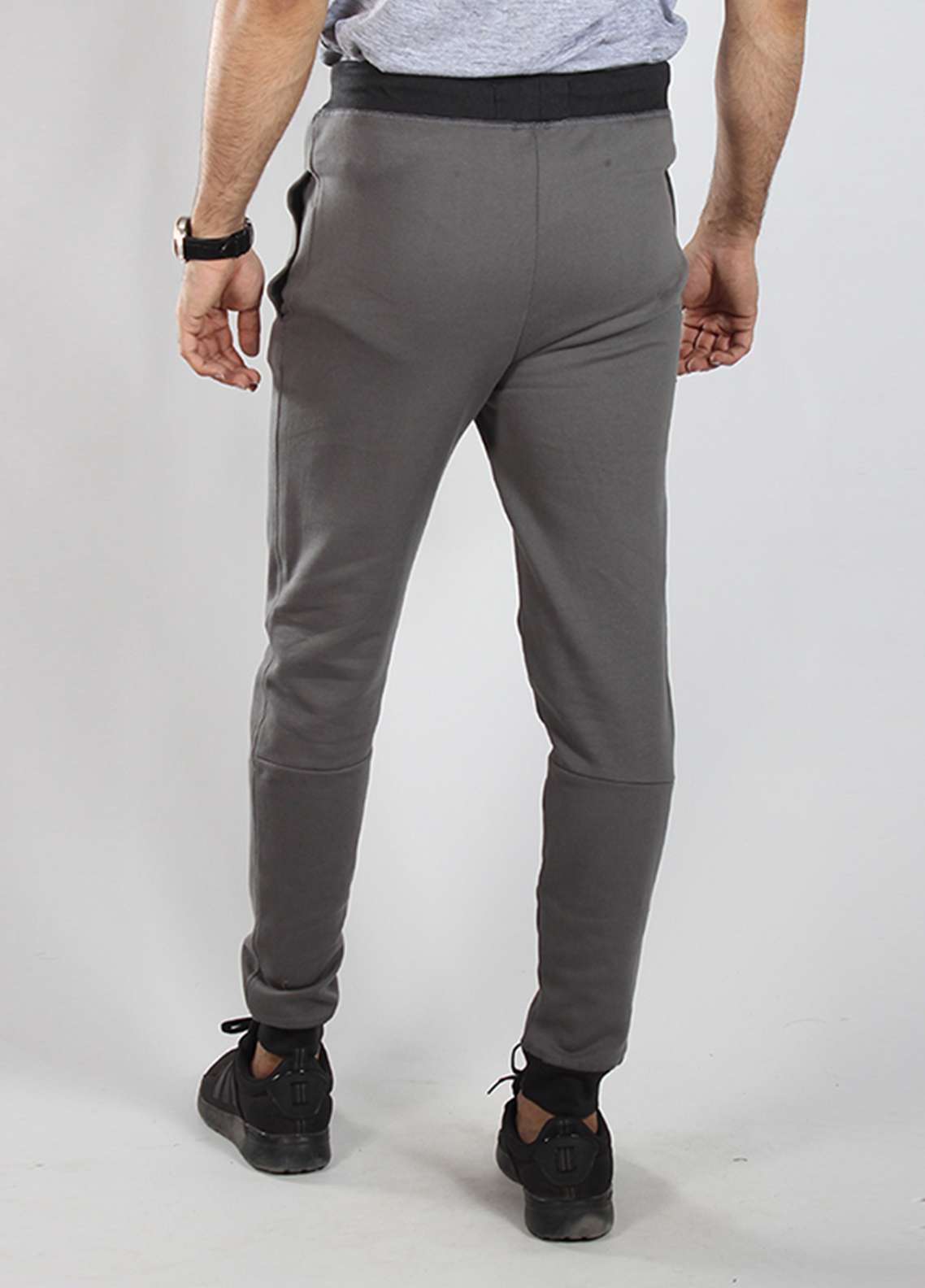 Red Tree Knitted Casual Trousers for Men - Purple RTM18TR 6019