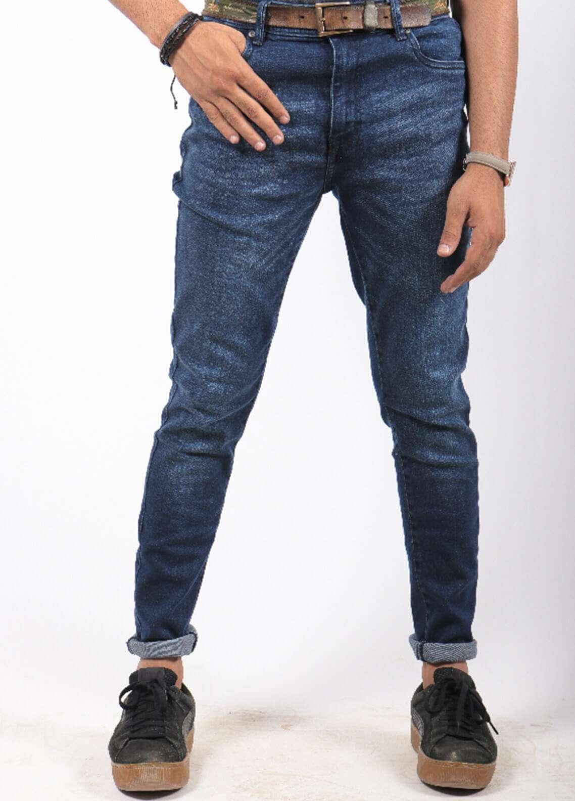 Red Tree Denim Casual Men Jeans - Blue RTP163