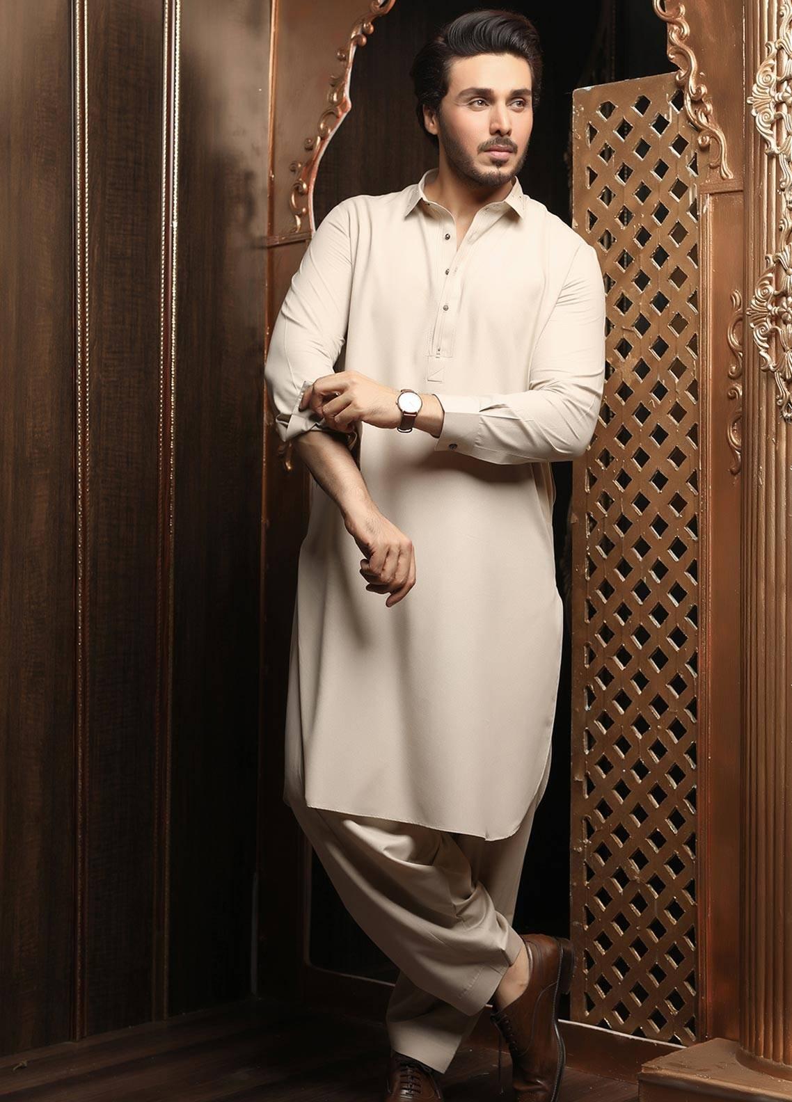 Safeer by Edenrobe EMUB18-LEGACY Blended Unstitched Men's Kameez Shalwar Fabric