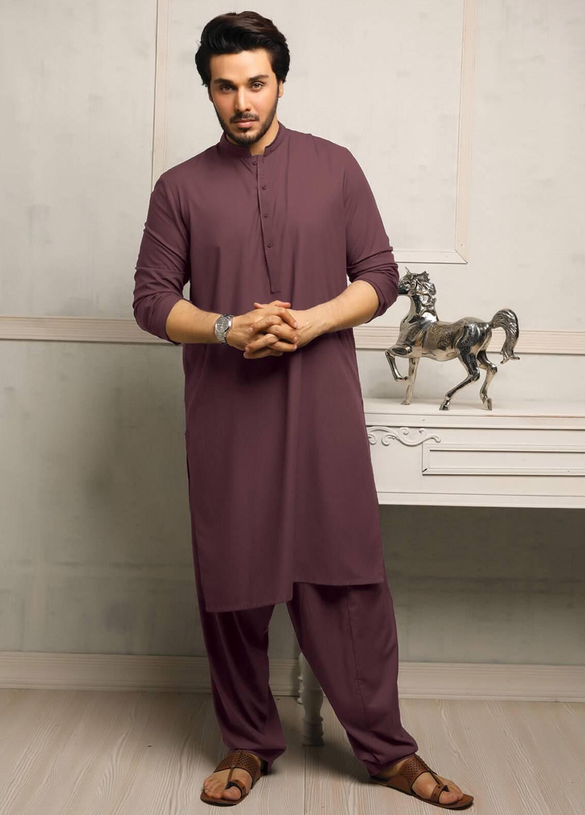 6793444f0e Safeer by Edenrobe EMUC18-INDULGE Cotton Unstitched Men's Kameez Shalwar  Fabric. Online only