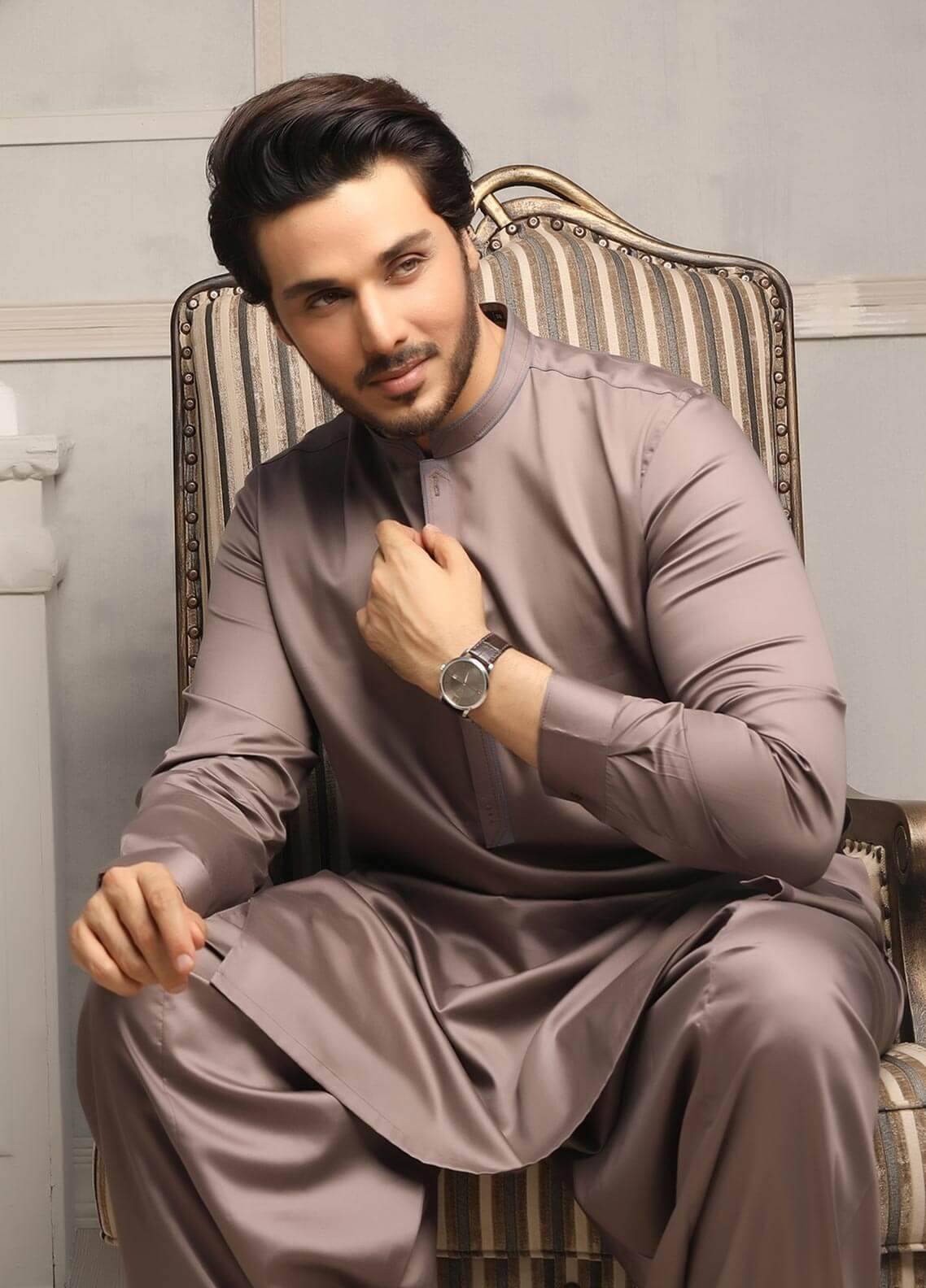 Safeer by Edenrobe EMUC18-SOLITAIRE Cotton Unstitched Men's Kameez Shalwar Fabric