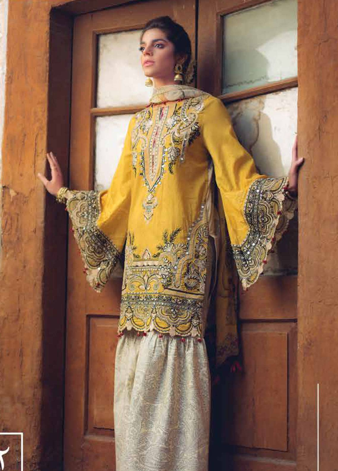 Saira Rizwan Embroidered Lawn Unstitched 3 Piece Suit SR19L 2 SAHAR - Spring / Summer Collection