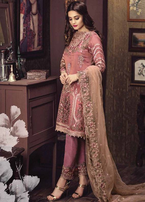 bd4a978c50260 Serene Premium Embroidered Chiffon Unstitched 3 Piece Suit SC17C2 01