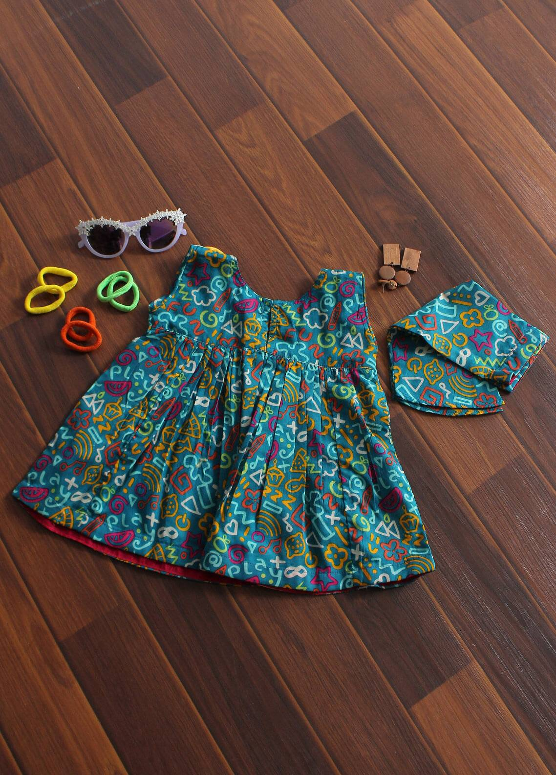 Senorita Cotton Fancy Kurtis for Girls - KAA-01190-SGN