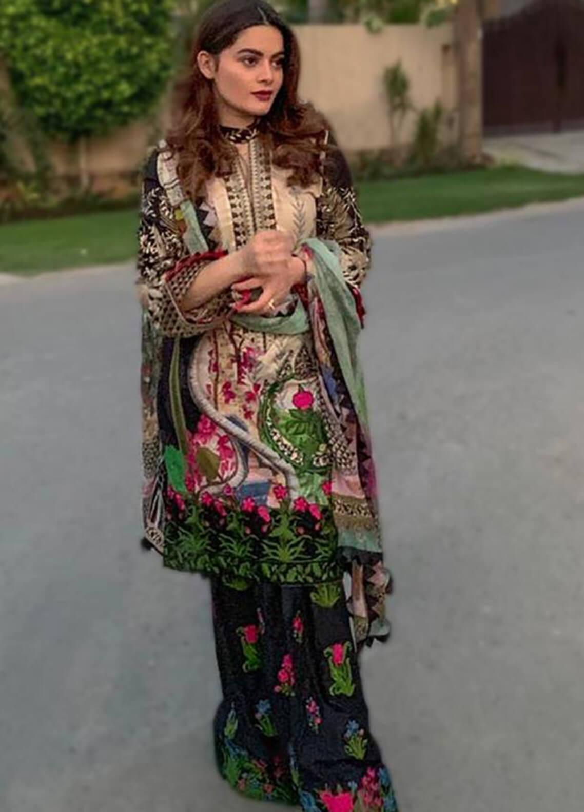 Shiza Hassan Embroidered Lawn Unstitched 3 Piece Suit SH19L 8A SUNKISSED - Spring / Summer Collection