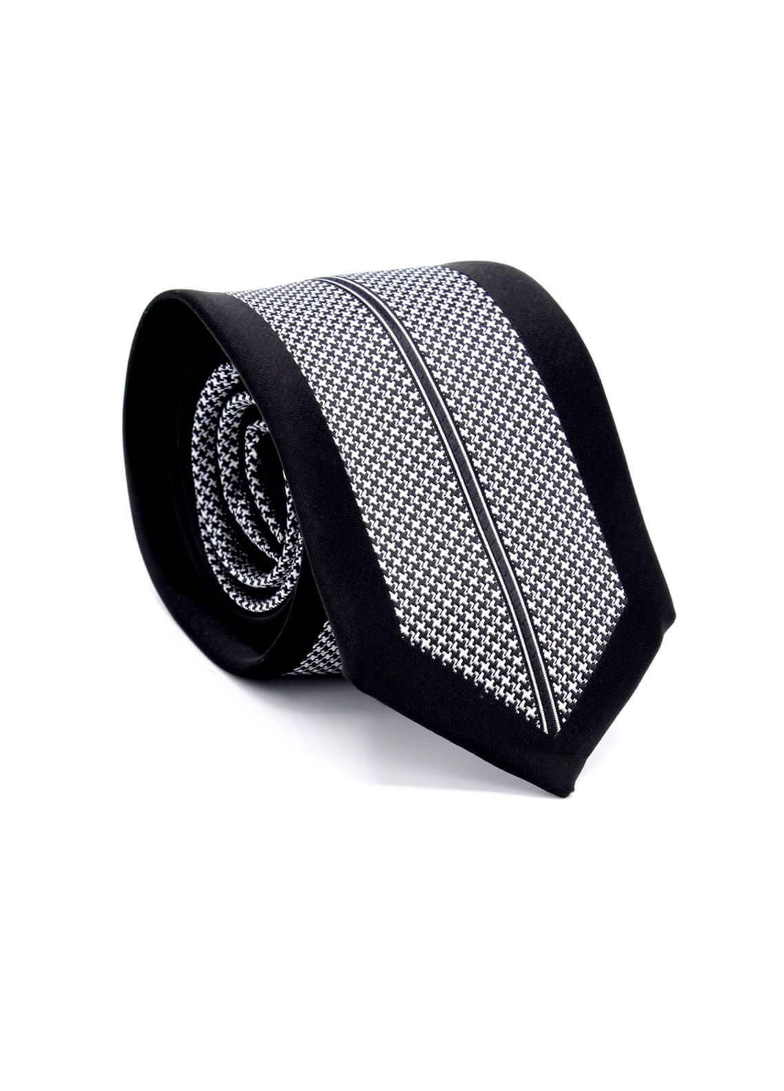 Skangen Multi-Patterned Wool Neck Tie Neck Tie SKTI-S-001 -