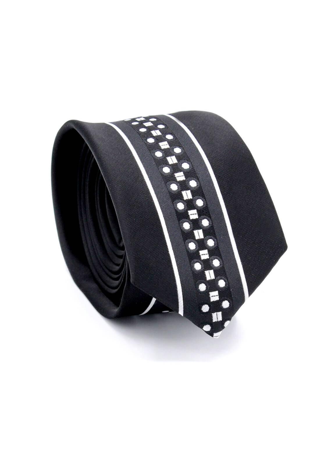 Skangen Multi-Patterned Wool Neck Tie Neck Tie SKTI-S-009 -