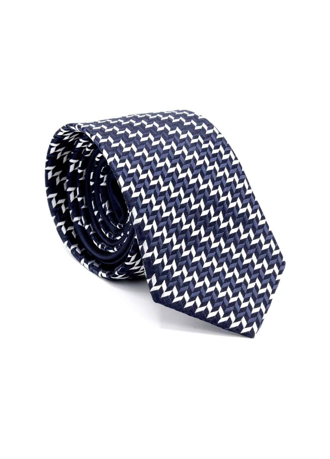 Skangen Multi-Patterned Wool Neck Tie Neck Tie SKTI-S-012 -