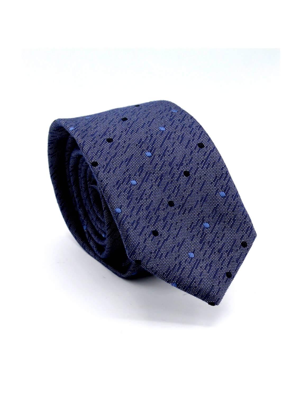 Skangen Multi-Patterned Wool Neck Tie Neck Tie SKTI-S-014 -