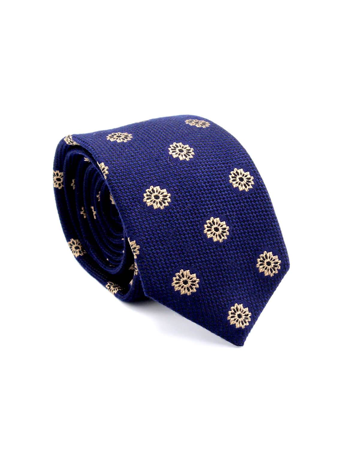 Skangen Narrow Wool Neck Tie Neck Tie SKTI-W-010 -