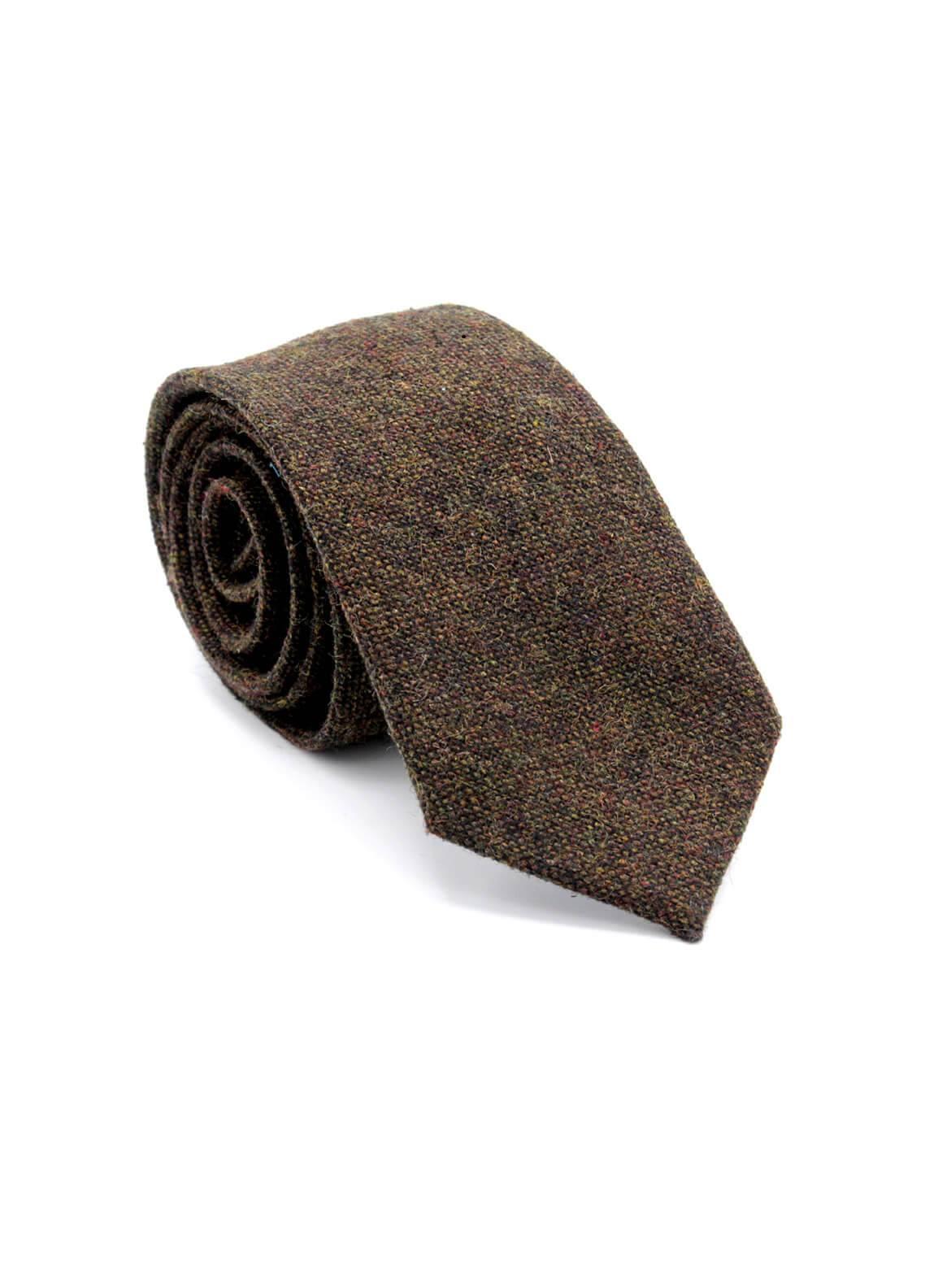 Skangen Narrow Wool Neck Tie Neck Tie SKTI-W-013 -