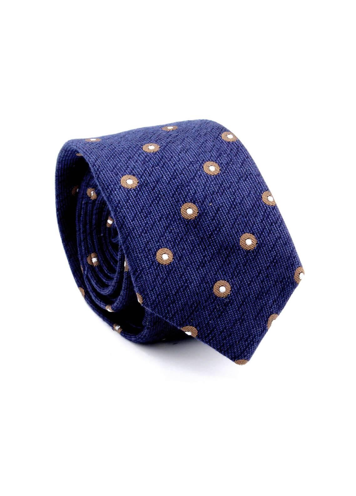 Skangen Narrow Wool Neck Tie Neck Tie SKTI-W-015 -